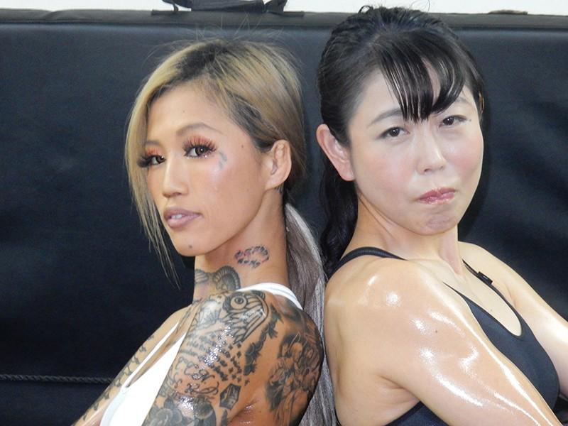 悶絶キックボクシング004 神崎まゆみvs鮫島るい パッケージ画像