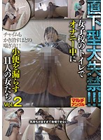 直下型大失禁!!!Vol.2 女子校のトイレでオナニー中に小便を漏らす11人の女たち ダウンロード