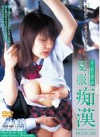 「女子校生通学路 夏服痴漢」のパッケージ画像