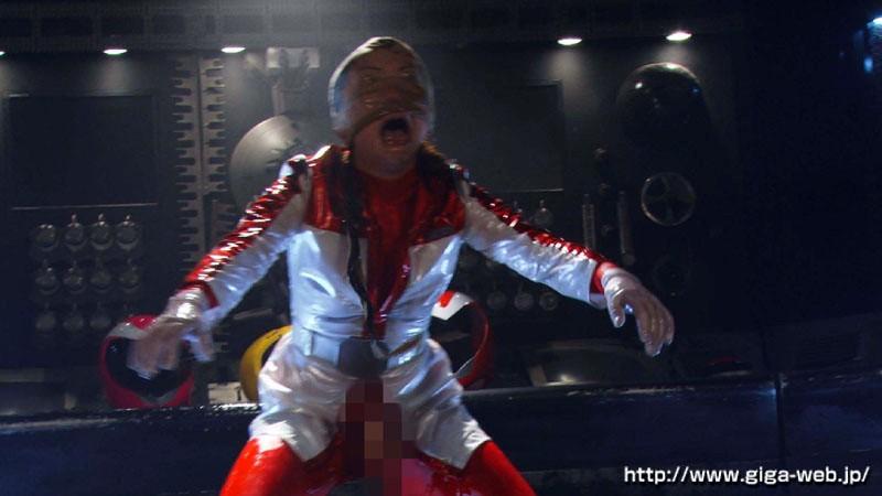 戦隊ヒロインふたなりハードレズアクメ洗脳 女司令官レクサスレッドとイエロー&ピンクのサンプル画像019