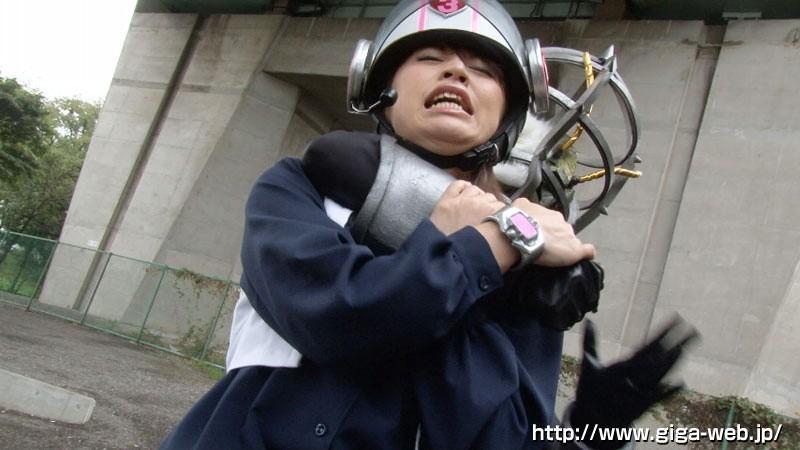 非変身ヒロイン凌辱 ゴーソルジャー シェリー早川 新山かえで の画像2