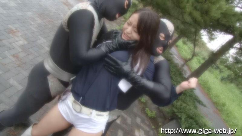 非変身ヒロイン凌辱 ゴーソルジャー シェリー早川 新山かえで の画像8
