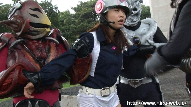 非変身ヒロイン凌辱 ゴーソルジャー シェリー早川 新山かえで の画像9