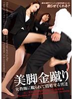 美脚金蹴り 女教師に蹴られて悶絶する男達 ダウンロード
