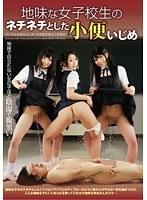 「地味な女子校生のネチネチとした小便いじめ」のパッケージ画像