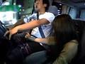 突然背後から女子校生が運転中に手コキ 20
