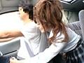 突然背後から女子校生が運転中に手コキ 5