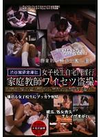 「女子校生自宅内淫行 家庭教師ワイセツ盗撮」のパッケージ画像
