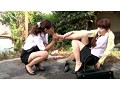 [LESL-305] 美脚の足指まで舐めるレズ
