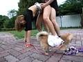 犬の散歩中の人妻にイタズラ 20