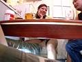 机の下でねっとりイカせる痴女 18