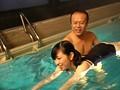 水中×競泳水着×H Wベロちゅー手コキ・水中フェラ・ピストンSEX・水中オナニー・水中レズキス・水中痴漢 5
