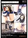 女子校生自転車パンチラ