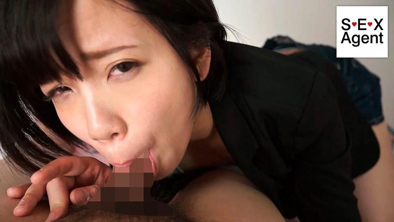 強制的じゃないセルフイラマチオ 05~わたしの喉チ○コに亀頭の先っちょ頂けますか?~