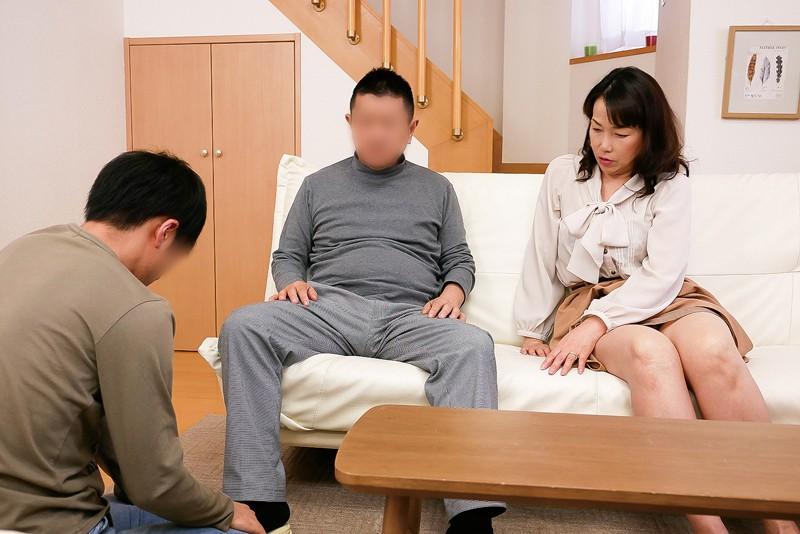 義父と息子を誘惑する五十路母 緒川藍子 の画像8