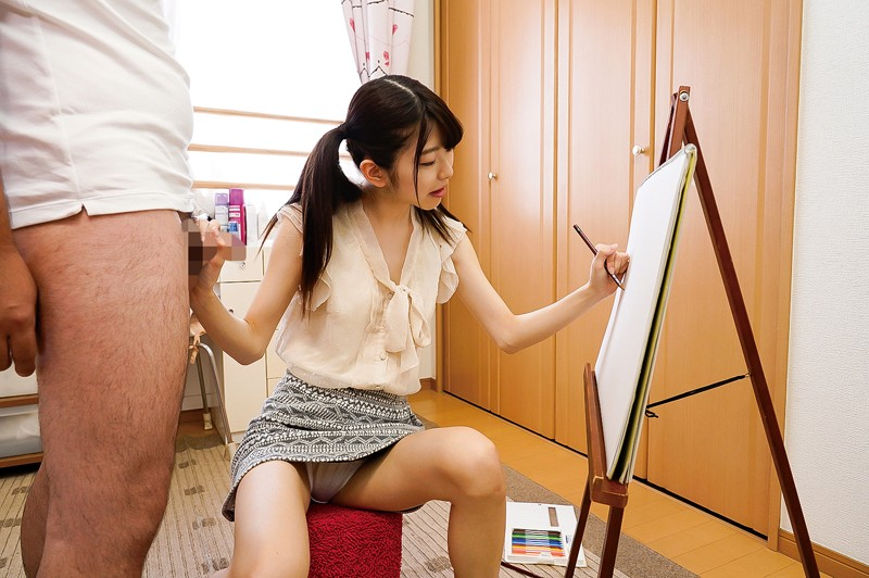 美大生のスレンダー純粋娘 有坂深雪 画像10枚