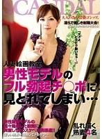 (h_254cand00013)[CAND-013] 人妻絵画教室男性モデルのフル勃起チ○ポに見とれてしまい… ダウンロード