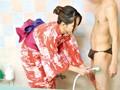 【サンプル画像その3】どこまでヤレる!?浴衣洗体エステのお姉さん 2
