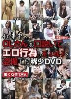 仕事中のOLさんを口説いてエロ行為に至る様子を盗撮した稀少DVD ダウンロード