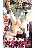 女体解剖カルテ 穴調査書 ダウンロード