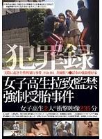 「犯罪録 女子校生拉致監禁強制受胎事件 File.04」のパッケージ画像