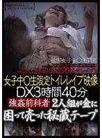 女子中○生限定 トイレレイプ映像 DX3時間40分 強姦前科者2人組が金に困って売った秘蔵テープ ダウンロード