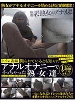 (h_307tost00022)[TOST-022] トイレ盗撮 撮られているとも知らず、アナルオナニーでイっちゃった熟女達 ダウンロード