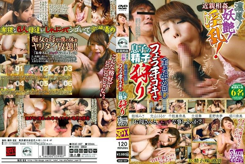 淫乱のお母さん、堀川奈美出演の近親相姦無料熟女動画像。近親相姦 濃厚!