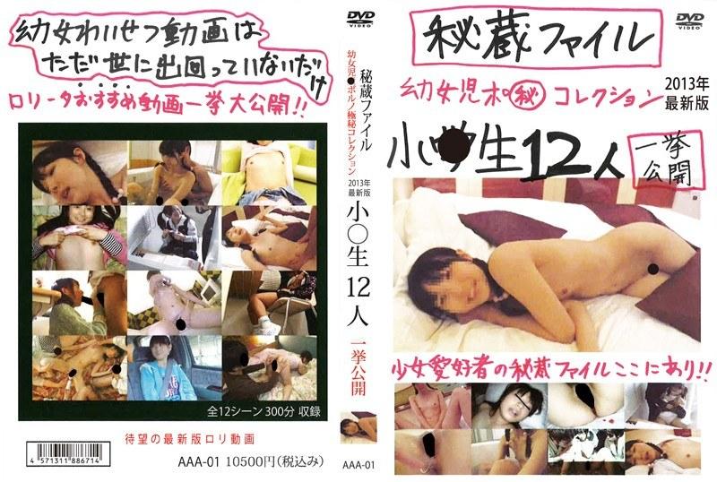 秘蔵ファイル ●女●●ポルノ極秘コレクション 2013年最新版 小○生12人 一挙公開