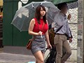 街で見かけたパイスラがひと際目立つムチムチ爆乳娘をナンパしたら秋田の田舎町から遊びに上京してきた世間知らずの芋っ娘でした。 2