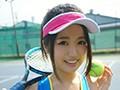 発掘ミラモン!巨乳なのに神くびれな天真爛漫18才テニス部員が鮮烈AVデビュー!!平手明日香 1