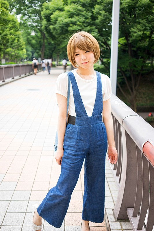 オトコの娘 おち○ぽさんぽ 黒木紗姫のサンプル画像001