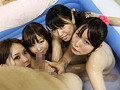 パイパン美少女10人 つるつるビチョビチョローションマット 15