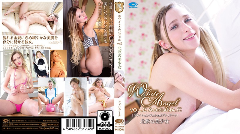 WHAN-002B,WHITE ANGEL vol.2 北欧の美少女 Adriana.C