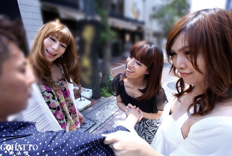 欲しがり女装子のガチ○コ逆ナンパ IN上野のサンプル画像001