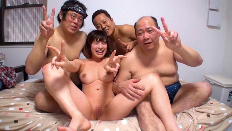 ガチファンのおじさん達と舐め合いセックス 早川瑞希