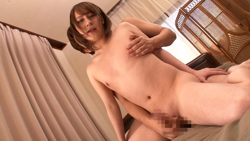 オナ禁1ヶ月で全身性感帯になった女装娘の馬並み発射! リンドル星川のサンプル画像005
