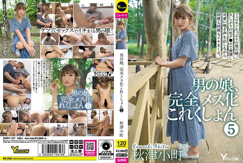 男の娘、完全メス化これくしょん 5 秋津小町 パッケージ画像