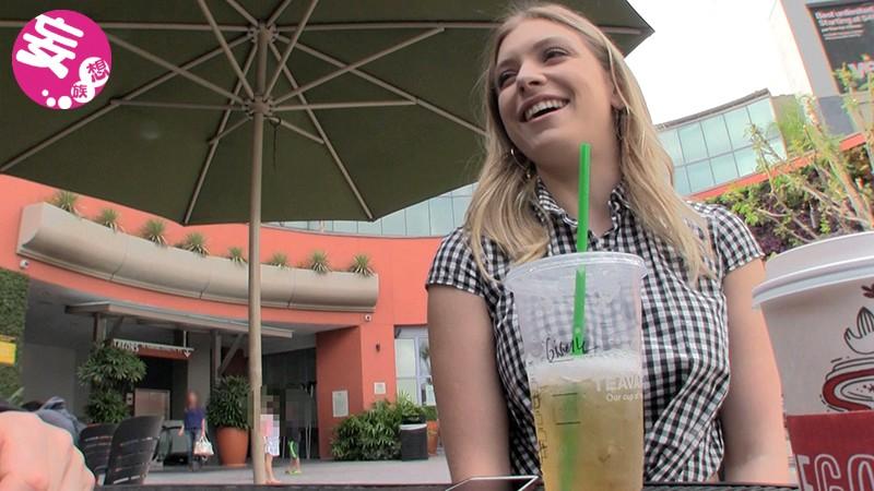 ロスでナンパした金髪女子大生がスウェーデンからの留学生で高身長スタイル抜群&めちゃくちゃエロい最高の女だった ジゼル(20歳) の画像10