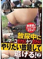 (hkka00006)[HKKA-006] 素人お姉さんが我慢できずに野原で放尿中にマ○コさわりケツさわりやりたい放題して逃げる! 2 ダウンロード