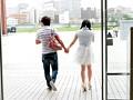 お嬢様女子大生 はじめての中出しデート 藤川千夏 2