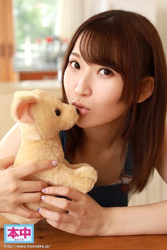 日本一キスが好きな現役女子大生AVデビュー 松下ひな 画像10枚