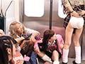 ヤンキー女子校生がパンチラ全開で電車を占拠! 出張でド田舎の電車に乗ったら、地元のヤンキー女子校生に車両を占拠されていた!座り込んで飲んだり食べたり化粧したりでやりたい放題の彼女たち!しかも、見慣れないボクを「都会の男だ!」と集まり悪ふざけで服を脱がさ… 3