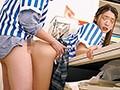 無防備パンチラ!はわざと?2 ボクのバイト先のコンビニの女子○生は、制服姿のままバイトしていてスカートが短く高い所のモノを取ったり、低い所のモノを取ったりする度に無防備にパンチラしまくるもんだから興奮して勃起しまくり!思わずガン見していたら勃起がモロバレ… 画像9