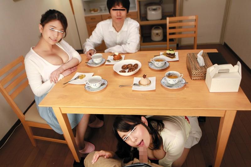 【エロVR】先輩夫婦とNTRセックス→理性を失い4P乱交パーティーに発展!