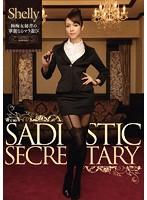 「極痴女秘書の華麗なるマラ遊び Shelly」のパッケージ画像