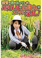滋賀で稲を刈っていた美乳美尻のお母さんはスンゲェ淫乱! 島津かおる
