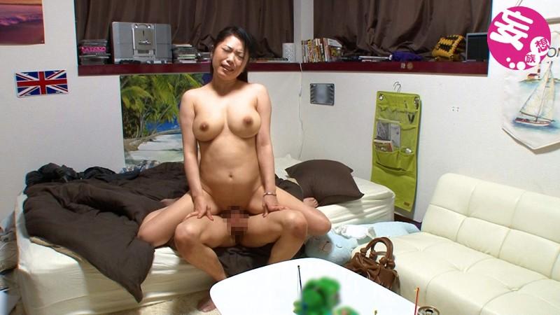 【人妻】エロ動画 イケメンが熟女を部屋に連れ込んでSEXに持ち込む様子を盗撮したDVD。 14~強引にそのまま中出ししちゃいました~ 無料サンプル動画 (スマホ対応)