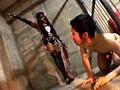 ケラ工房の国際親善 黒人ミストレス VS 小さな日本人奴隷2匹 5