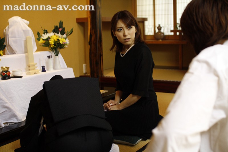 【熟女・人妻動画】未亡人、白木優子のH無料動画。白木優子夫が残した財産を守る為に義弟に犯されてしまう未亡人